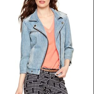 Gap Denim Moto Jacket